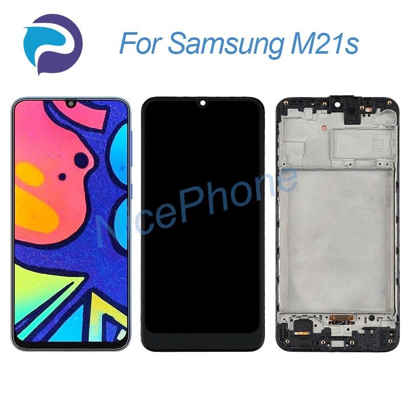 Активно-матричные осид, для Samsung M21s ЖК-экран + сенсорная панель (диджитайзер) дисплей 2340*1080 SM-F415F/DS для Samsung M21s экран с ЖК-дисплеем