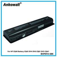 For HP CQ40 Battery CQ45 DV4 DV6 CQ61 DV5 CQ41 Laptop Battery 6 cell