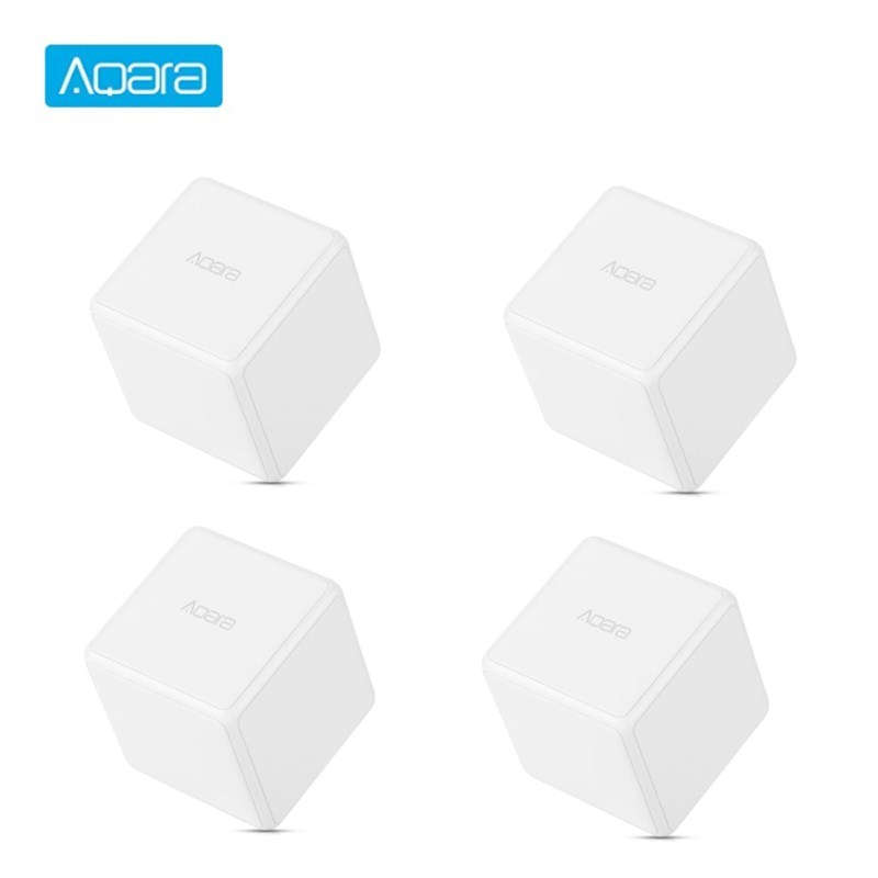 Aqara Magic Cube Controller Zigbee Version Controlled By Six Actions For Smart Home Device Work With Mi Home APP