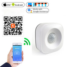 Smart Life Zigbee Intellige WiFi PIR Motion Sensor Wireless for Home Security Monitoring Support Google Home Sensitive Detection