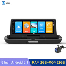 Video-Recorder Remote-Monitor Gps-Navigator Dash-Cam Rear Camera ADAS Dual-Lens 4G 1080P