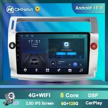 Car Radio for Citroen C4 C Triomphe C Quatre 2004 2009 Multimedia Video No 2 Din Dvd Player Android 9.0 GPS Navigation Accessory
