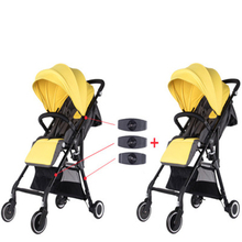 3pcs Coupler Bush Insert Into the Strollers for Babyzen  Baby Yoya Stroller Connector Adapter Make Into Pram twins