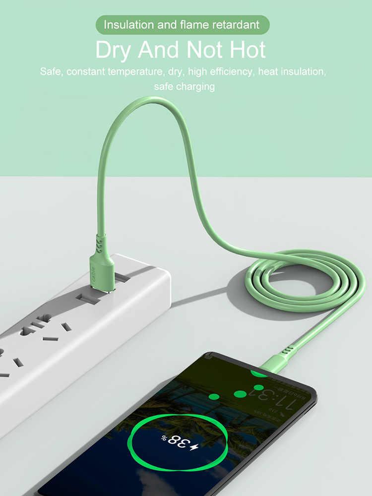HOPELF Usb c 3A/5A şarj kablosu Samsung Android için hızlı şarj Xiaomi şarj mikro USB tip C kabloları cep telefonu kablosu tel