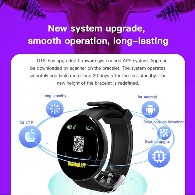 2019 Bluetooth Smart Watch Men Blood Pressure Round Smartwatch Women Watch Waterproof Sport Tracker WhatsApp For Android Ios