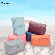 Cosmetic Underwear Organizer Lingerie Bra Travel Bag Multi-function Pouch Zip Cases Clothes Bra Cloth art Pouch Suitcase high quality waterproof travel bra underwear lingerie shoes travel bag box luggage suitcase pouch organizer handbag case