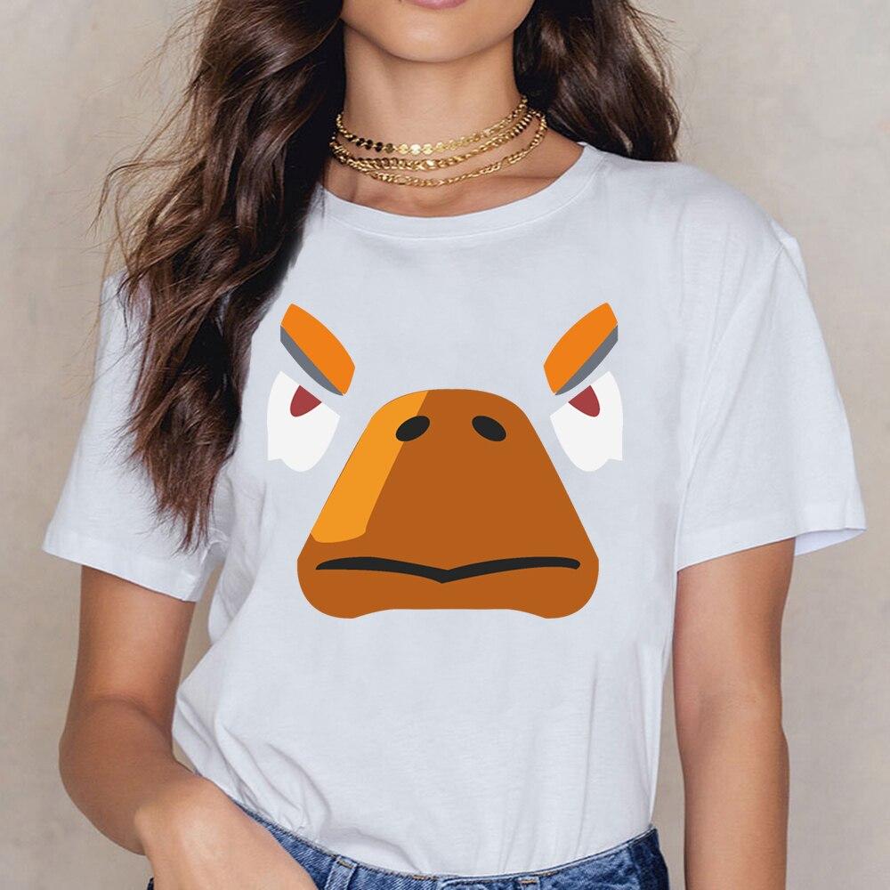 Tops T Shirt Women Gift Gamer Gaming Crow Brawl Brawler Star Mobile Womens Scoop Neck  Kawaii Custom Female Shirt
