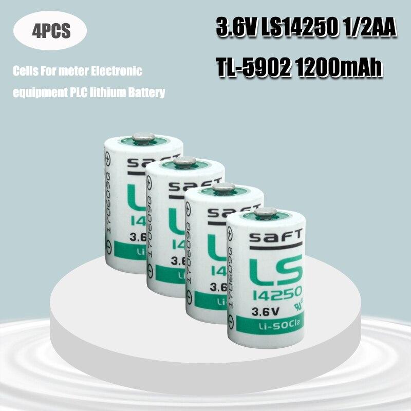 4 шт., батарейки для станков с ЧПУ, 3,6 В