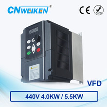 цена на WK600 Vector Control frequency converter Three-phase variable frequency inverter 440V4.0kw/5.5kw ac motor speed controller