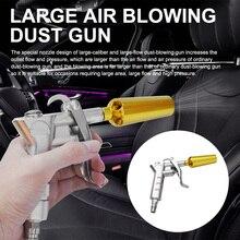 Blow Gun High Pressure Zinc Alloy Air Gun Aluminum Air Jet Nozzle High Flow Dust Collector Air Compressor Dust Removal Spray Gun