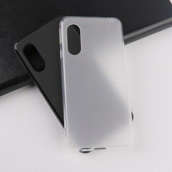 Перейти на Алиэкспресс и купить Для Sharp Aquos Sense3 Aquos Sense3 Plus чехлы для телефонов матовый мягкий корпус ТПУ силиконовый грязестойкий матовый черный белый чехол для телефона