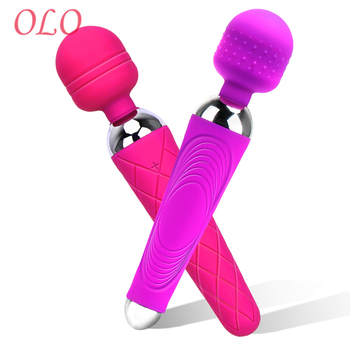 OLO Powerful Magic Wand AV Vibrator  Sex Toys for Woman Female Masturbator G Spot Massager Vibrating Dildo Clitoris Stimulator big av magic wand massager g spot vibrator for women vagina clitoris stimulator masturbator pussy usb charge sex toys