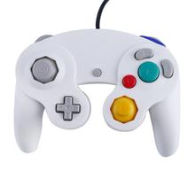 Gamepad Game Controller For Nintendo Wii GameCube handle Joystick For NGC wired controller Joypad with tracking number wired game controller gamepad for n gc joystick with one button for gamecube for wii