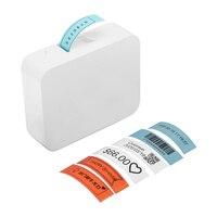 Impressora de etiquetas térmica portátil preço de nome handheld impressora de etiquetas de código de barras impressora bt conexão para escritório em casa
