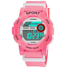 Часы наручные synoke Детские с хронографом и будильником спортивные