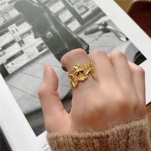 Hoja de pendientes mujeres pendientes oreja abrazadera hojas Cirrus Rose oro plata oro nuevo