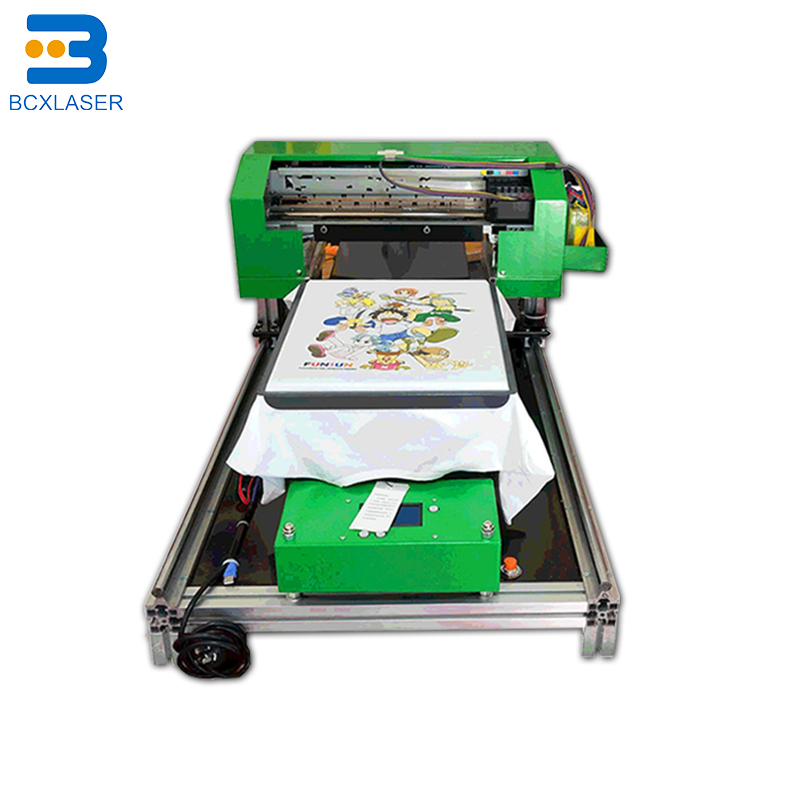 The Flat Printer Supports Printing On T-shirt Textile Fabrics