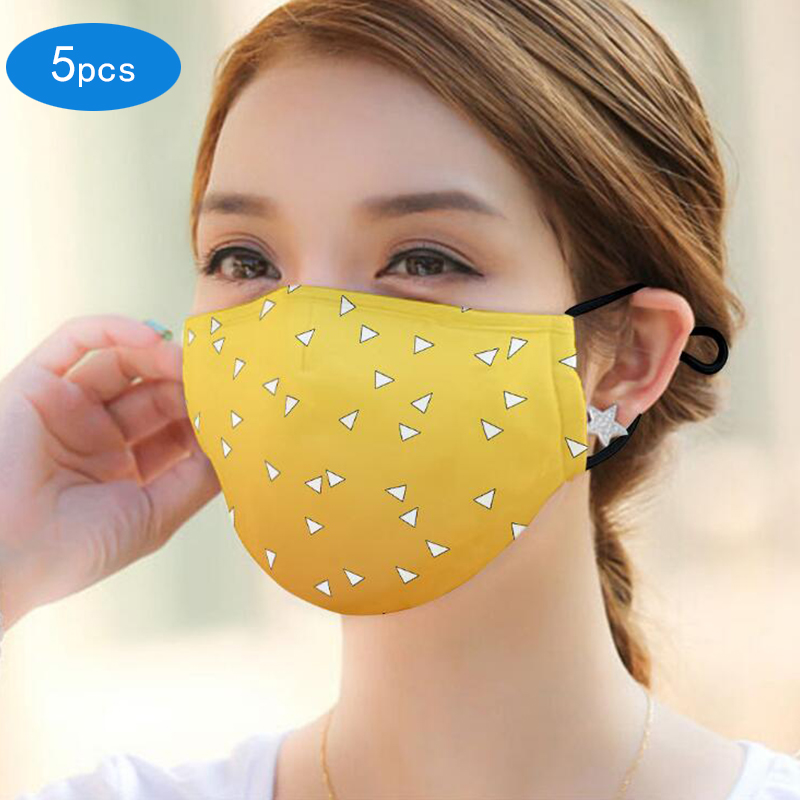 Mouth Mask Custom Printing Washable Breathable Customized Mouth Cover Mask Face Mouth Mask Clothing Accessories