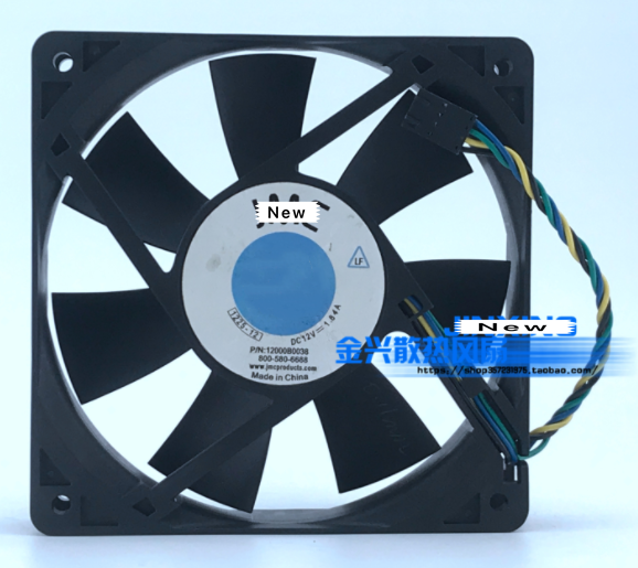 for JMC//DATECH 6015 6cm Ball Fan 6015-12HB Supports PWM Temperature Control