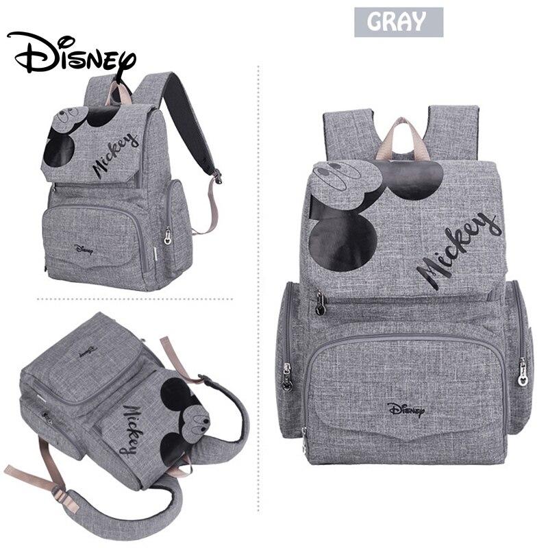 Sac à couches Disney pour bébé | Sac à dos pour maman, sac de maternité multifonction, sac à couches pour maman, sac poussette de grande capacité