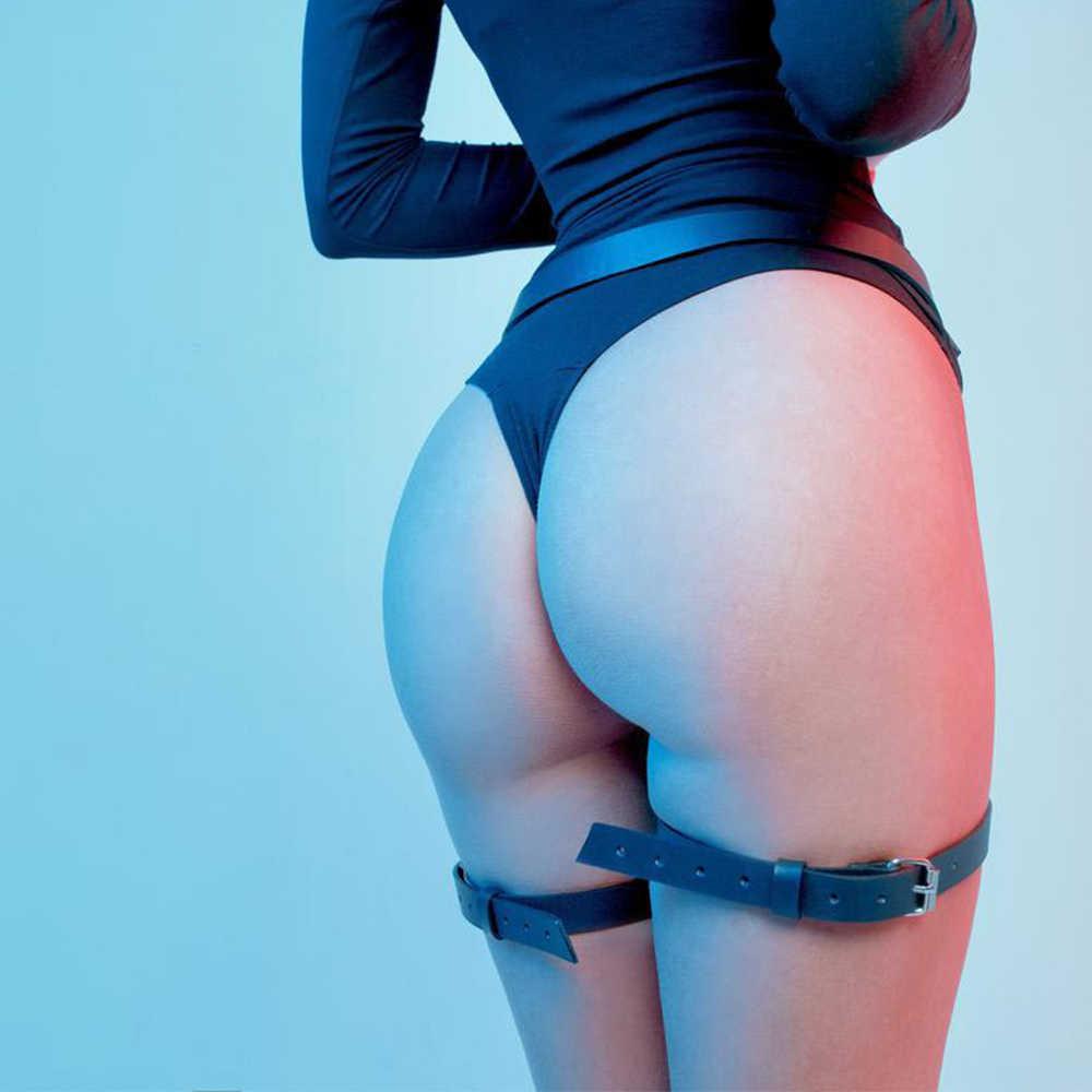 Phụ Nữ Dây Body Mối Ràng Buộc Lồng Dây Rút Tạo Vớ Sexy Quyến Rũ Gợi Tình Da Gợi Cảm Treo Áo Nữ Dây Bdsm Punk Goth