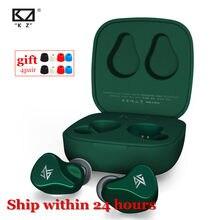 Kz Z1/Kz Z1 Pro Bluetooth 5.0/Bluetooth 5.2 Tws Oortelefoon Aac Touch Control Oortelefoon Dynamische Oordopjes Sport game Headset
