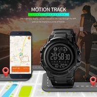 SKMEI Modo Astuto Della Vigilanza Degli Uomini Orologio Da Polso Bluetooth Smartwatch Uomo Call APP Messaggio di Promemoria Reloj Inteligente Per Huawei Xiaomi