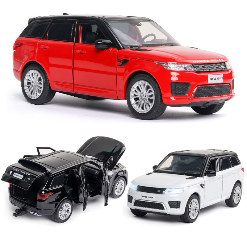 1:32 Free Shipping Alloy Car Land-Rover Model Range Rover Sports Car Model Sound And Light Back Children Toys Favorite