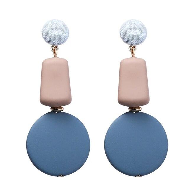 Blue Earrings for Women Sky Sea Color 5