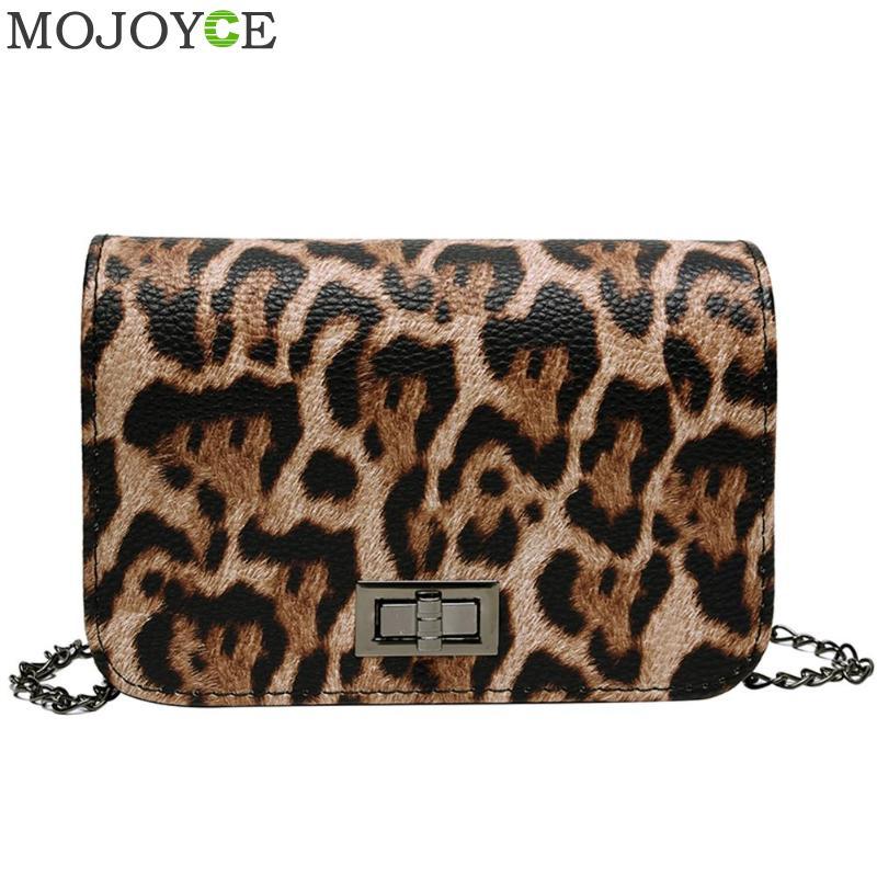 Mini Women Handbag Lock Leopard Small Square Bag Women Chain Shoulder Messenger Bag Luxury Evening Bag Clutch Mobile Phone Bags
