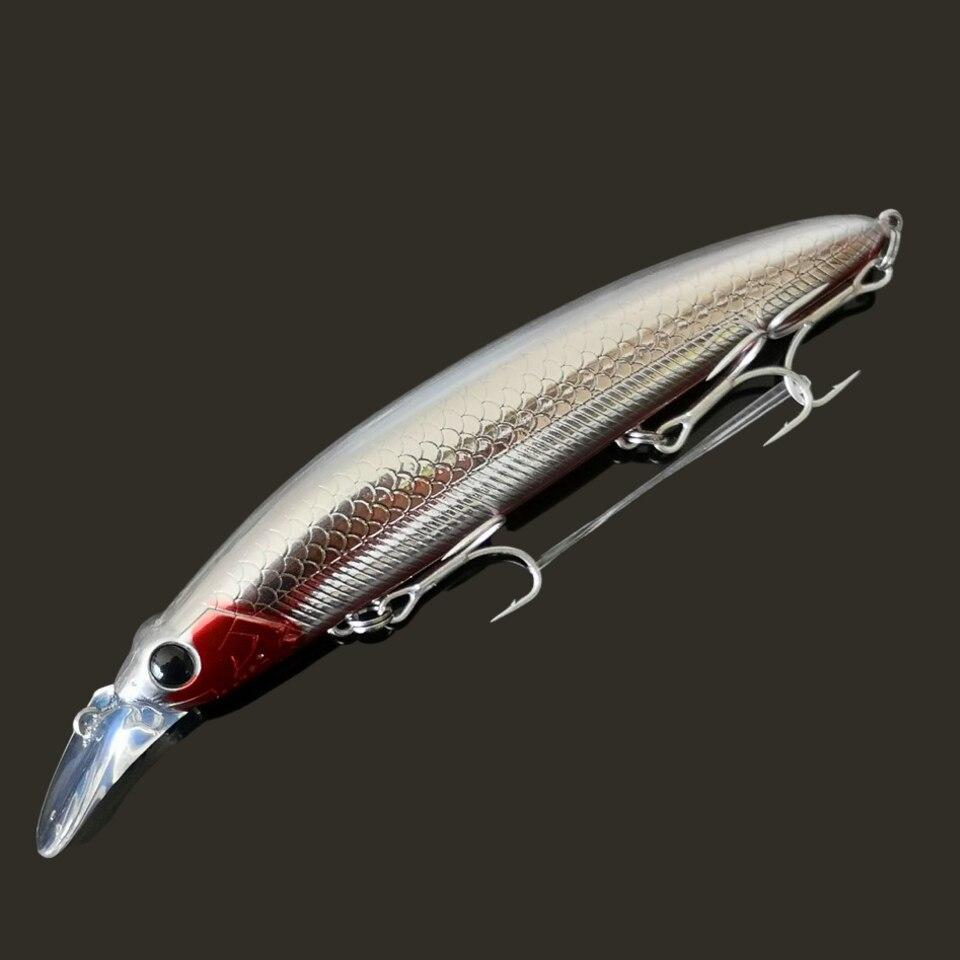 SWOLFY 8 шт./лот плавающая приманка в виде гольяна 110 мм, 21 г, длинное забрасывание, искусственные жесткие приманки, Плавающий Гольян, Океанский рыболовный воблер 6