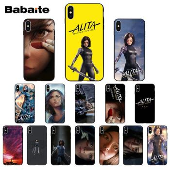Science Fiction Movie Alita Battle Angel High Quality Silicone Phone Case for iPhone 11 pro XS MAX 8 7 6 6S Plus X 5 5S SE XR image