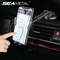 Dashboard Auto Telefon Halter Innen Auto Air Outlet Vent Telefon Halterung Clip für Handy-Navigation 360 Grad Drehen Gadget