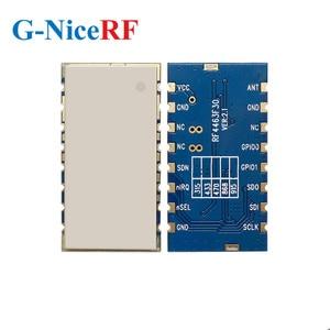 Image 5 - 2 adet/grup RF4463F30 1W 30dBm Si4463 çip 433MHz gömülü FSK kablosuz RF modülü