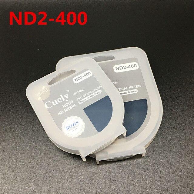 40.5 49 52 55 58 62 67 72 77 82 millimetri ND Fader ND2 400 Variabile Filtro a Densità Neutra per Canon nikon Camera Lens di Sony