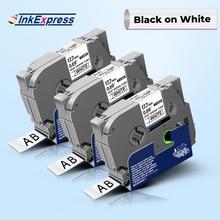 Heat-Shrink-Tube-Tape Label-Maker Hse Tze-Tape Hse-241 Black 18mm for 241/Hse-241/Hse241/Label