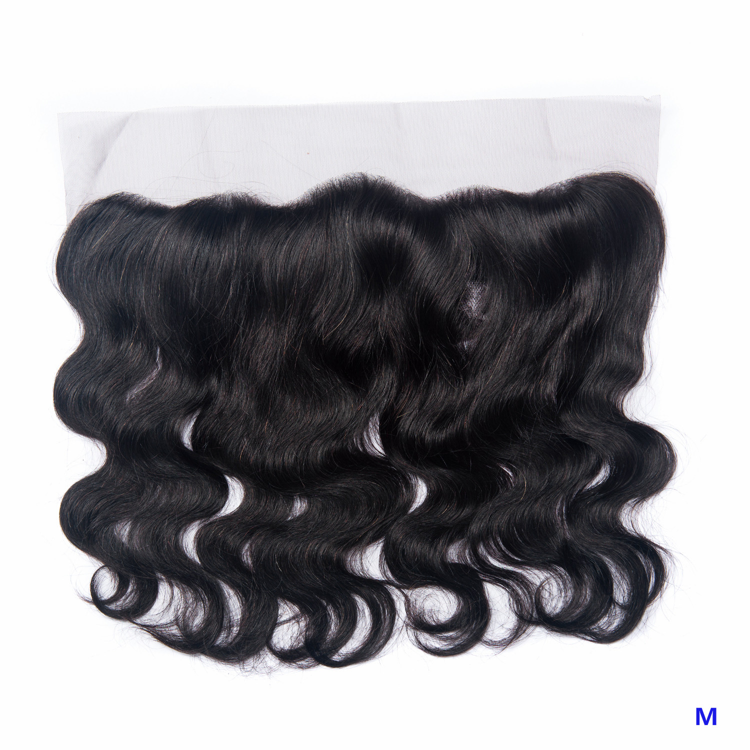 OYM HAIR Brazilian Body Wave Hair Frontal Closure Middle Ratio Human Hair 8-20 Inch 13x4 Lace Frontal Non-Remy Hair Extension