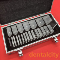 LS22 optische ophthalmic prisma Optometrie Optische instrument optische ophthalmic prism set mit aluminium fall