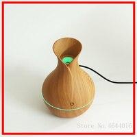 130ml USB elektryczny Aroma dyfuzor powietrza drewna ultradźwiękowy olejek eteryczny do nawilżacza wytwarzacz mgiełki do aromaterapii dla domu samochodu w Nawilżacze powietrza od AGD na