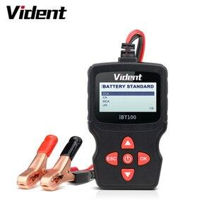 Image 1 - Vident iBT100 12V Analizador de batería para inundados, AGM,GEL 100 1100CCA herramienta de diagnóstico de probador automotriz