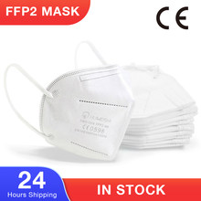 5-Layer ffp2 mask Protective Face Mask FFP2 Masks KN95 Filter Masks mascarillas Anti Dust Pollution ffp2 Mask Respirator masque