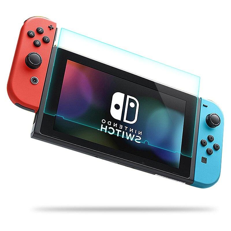 Для Nintendo переключатель высокого качества комплект из ультра-прозрачная кристальной чистотой Стекло для Nintendo Switch закаленное Стекло Экран п...