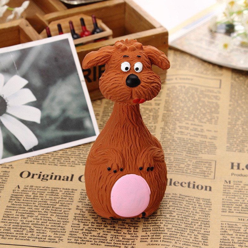 Dog Toys Latex Chew Squeaker Squeaky Sound Playing Toys Animal Shape Pet Puppy Dog Toy 12