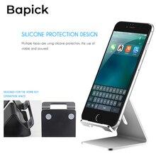 Bapick Potable Mobile Phone Holder Desk Stands for Iphone 8 X XS XR Huawei Ipad Samsung Xiaomi Support Tablet Desktop