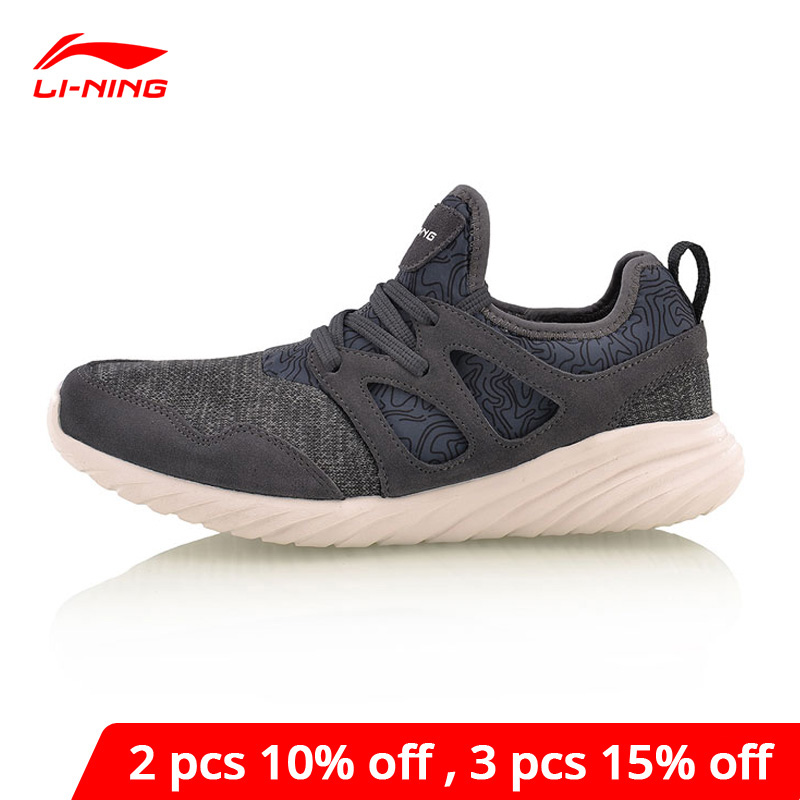 Li-Ning <font><b>Men</b></font> Edge Lifestyle <font><b>Shoes</b></font> Leisure Light Weight Breathable <font><b>LiNing</b></font> li ning Sport <font><b>Shoes</b></font> Sneakers AGCM057 YXB083 image