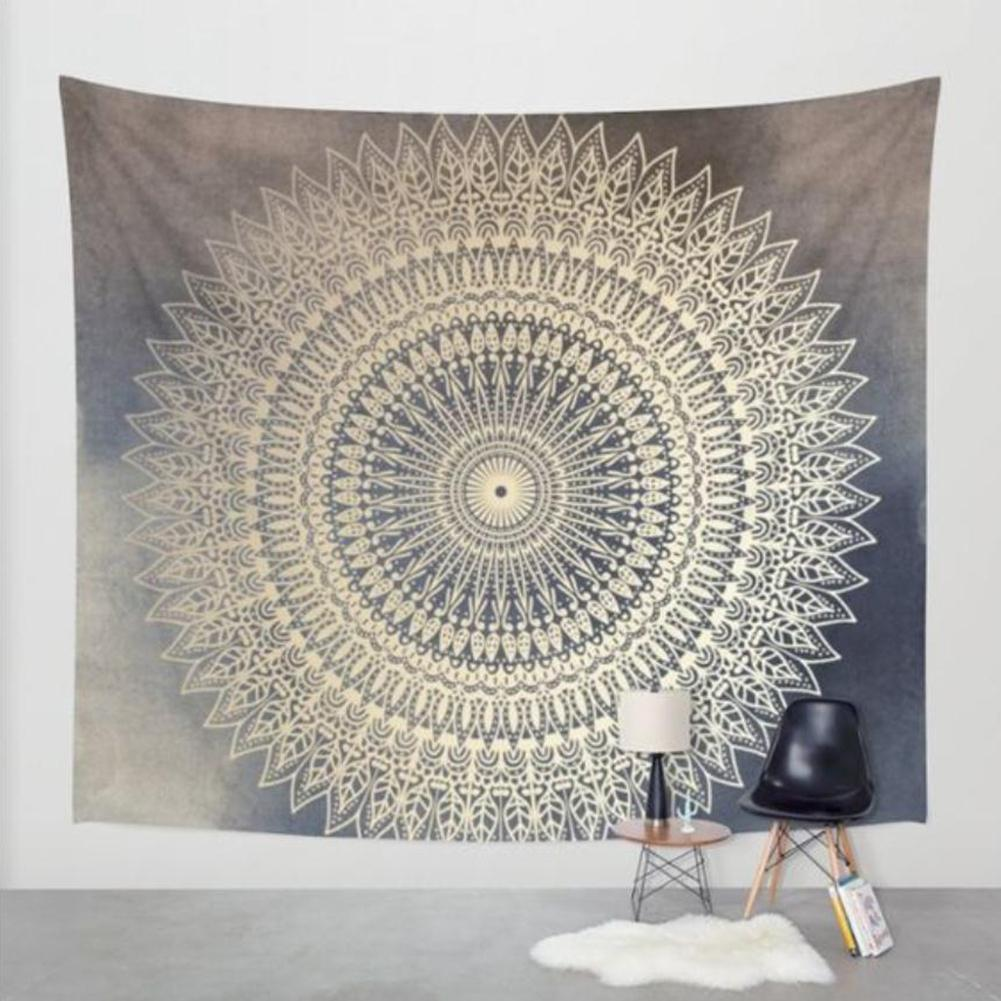 GloryStar Floral Painting Series Gobelin Wall Hanging Tapestry Beach Mat For Traveling Home Supplies