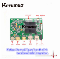 144HZ FHD mini DP driver controller board for DIY portable monitor fit SCREEN B156HAN10.0 100% Color contrast ratio 1000:1