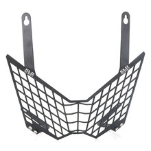 Fit For Kawasaki KLR650 2008-2015 KLR 650 Motorcycle Headlight Guard Front Light Headlamp Grille Guard Cover Protector