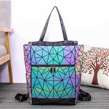 High-capacity Luminous unisex backpack Multi-Function 15-inch Laptop Backpacks Teenage school bag women Travel Shoulder Bags