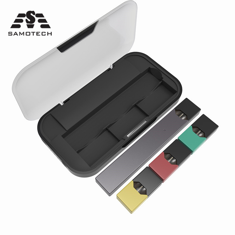 NEW Mobile Charging Pods Case Holder Box For JUUL Electronic Cigarette Charger Pods Case Holder Box Universal Compatible Box Pod